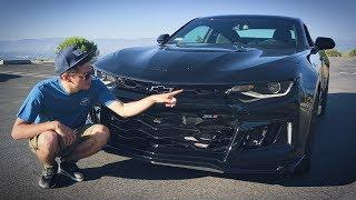 НОВЫЙ и БЫСТРЫЙ КАМАРО ZL1 2017, 650 сил, 3сек до 100! Обзор и тест-драйв Chevrolet Camaro ZL1