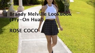 Brandy Melville Try-On Haul(LookBook)♡Rose Coco