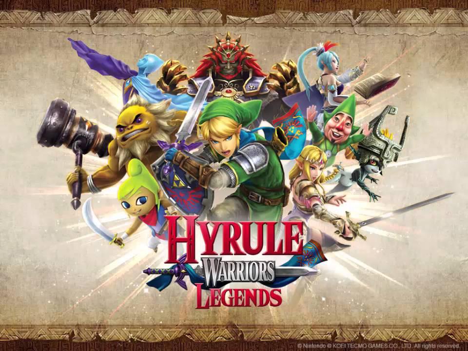 Hyrule Warriors Legends Music Trailer Theme Wind Waker Title Remix Youtube