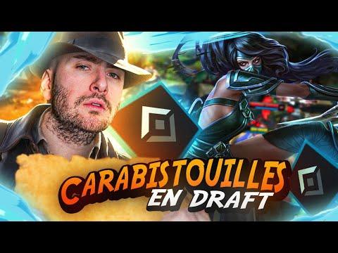 Vidéo d'Alderiate : AKALI TOP POUR LA GAME LA PLUS SUSPECTE DE CETTE SÉRIE - CARABISTOUILLES EN DRAFT