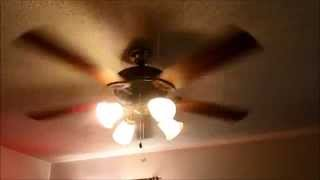 Ceiling fans in my house running on all speeds (better remake)