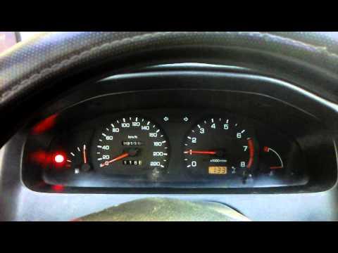 Плохо заводится Nissan Almera N15 1.4GX