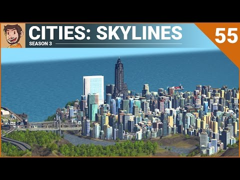 Let's Play Cities: Skylines - Part 55 (Season 3)