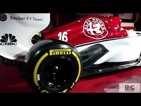 Alfa Romeo F1 vista da vicino