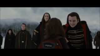 Breaking Dawn 2 : The memories Renesmee showed to Aro