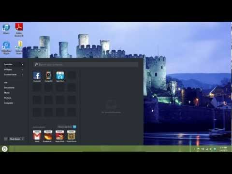 How to download a desktop start menu for Windows 8 by The Executive Factor