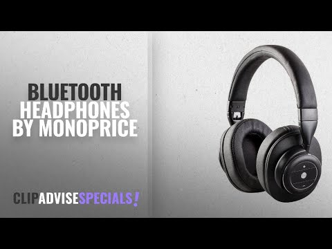 b1a7e9f61ea Top 5 Monoprice Bluetooth Headphones [2018]: Monoprice SonicSolace Active  Noise Cancelling - YouTube
