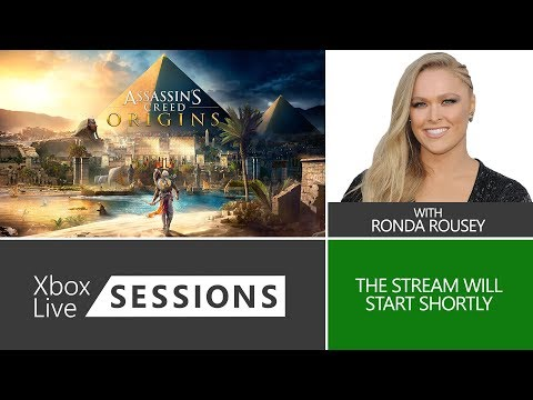 Xbox Live Sessions: Assassin's Creed Origins with Ronda Rousey.