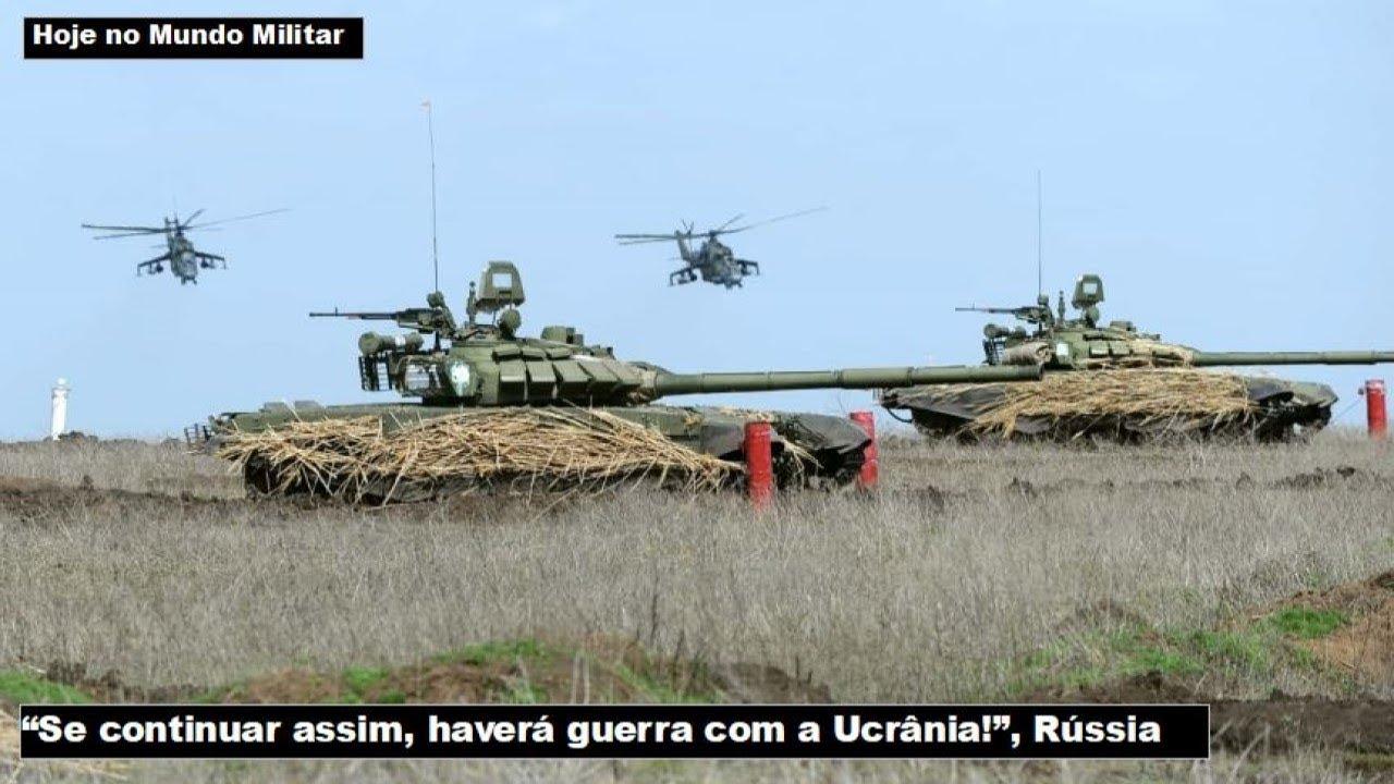 """""""Se continuar assim, haverá guerra com a Ucrânia!"""", Rússia"""