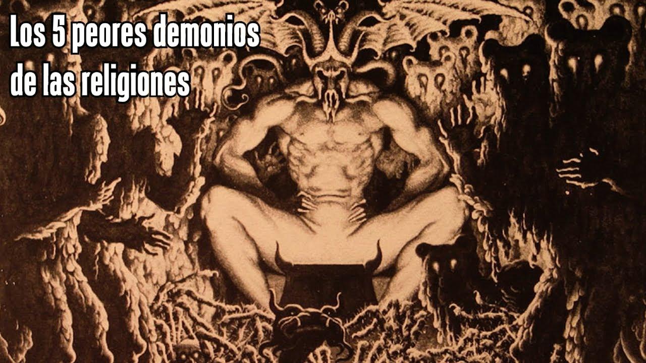 TOP: LOS 5 DEMONIOS MÁS PELIGROSOS DE LAS RELIGIONES - YouTube