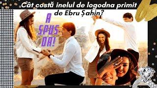 Cât costă inelul cumpărat de Cedi Osman, iubitei sale Ebru Șahin?