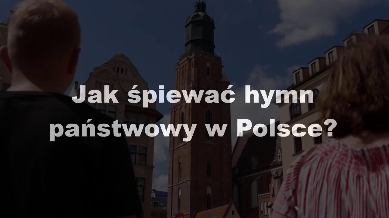 Jak śpiewać hymn państwowy w Polsce?