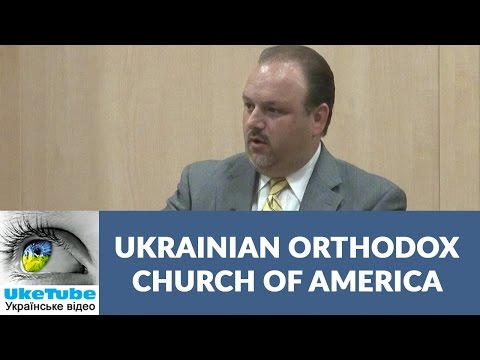Ukrainian Orthodox Church of America: John Jaresko