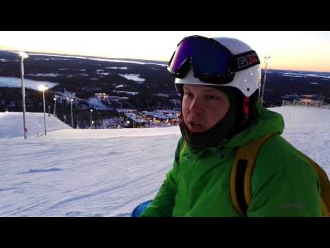 Самый популярный  горнолыжный  курорт  Финляндии Ruka.