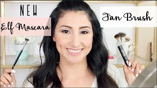 NEW ELF Mascara Fan Brush: Review and Demo!