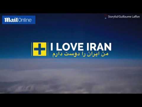 Incredible time lapse footage of Iran from above the clouds!