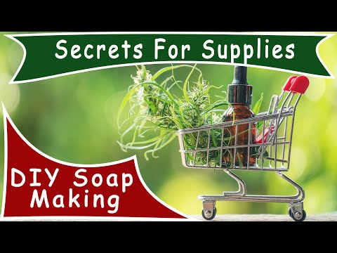 Shopping For Soap Making Supplies ~ Best Prices & Shopping Secrets