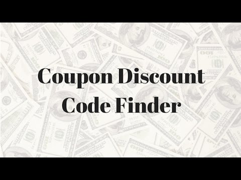 How to Download & Use a Coupon Code Discount Finder