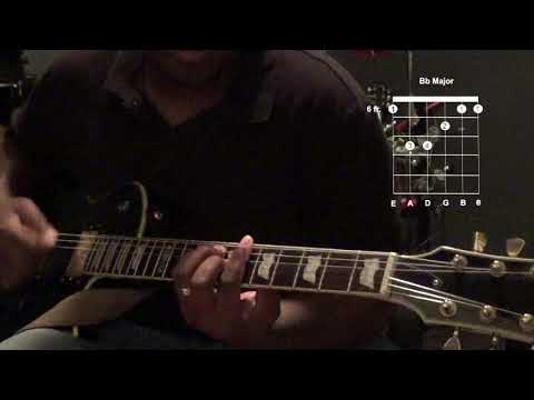 How to play Your Great Name by Todd Dulaney on guitar (rhythm guitar)
