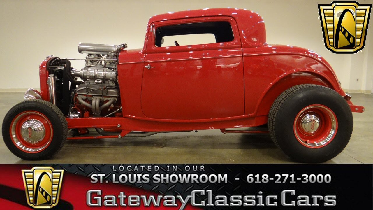 1932 Ford Highboy - Gateway Classic Cars St. Louis - #6282 - YouTube