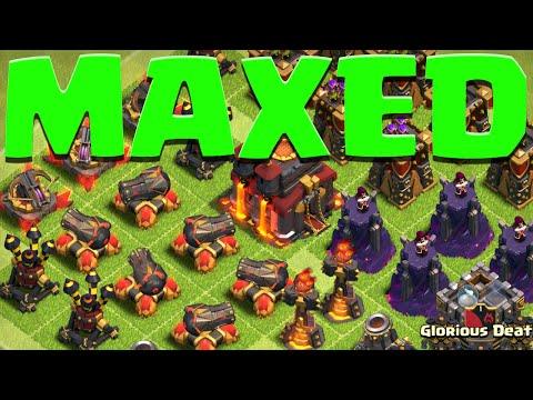 FINAL Defense Upgrade MAX TH10 Max Defense Max Bombs Clash Of Clans