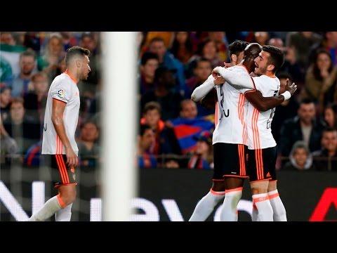 Gol de Mangala | Barcelona - Valencia | AUDIO VCF Radio