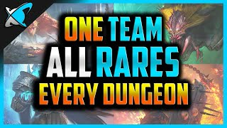 ONE TEAM... *ALL RARES*...ALL DUNĠEONS ?! | Challenge for everyone! | RAID: Shadow Legends