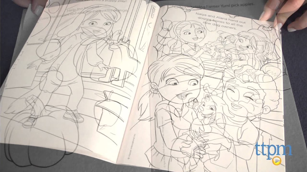 Dora The Explorer Paw Patrol Puppy Power Coloring Books From