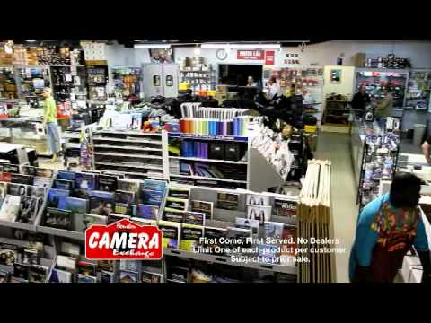 Houston Camera Exchange Blowout Sale 2011 - YouTube