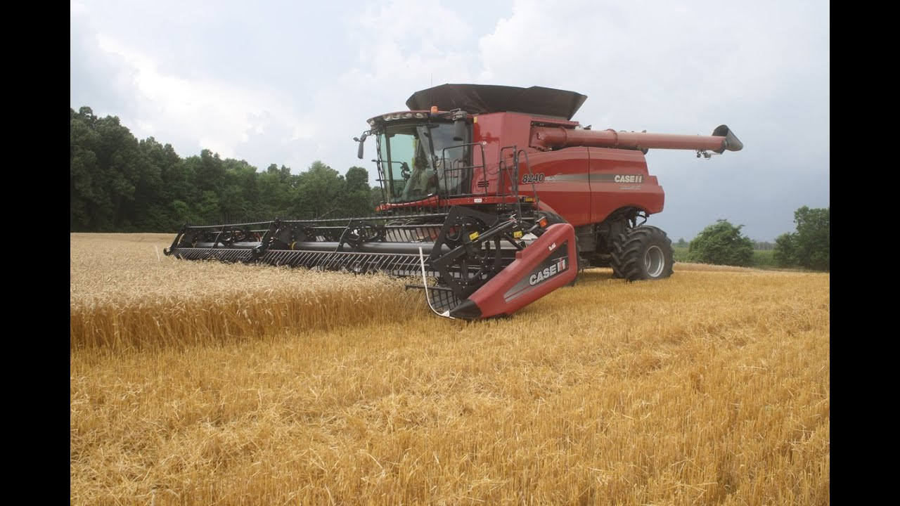 New 2015 Case IH 8240 Axial-Flow Combine - YouTube