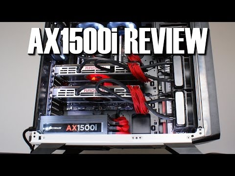 Corsair AX1500i Titanium Power Supply Review