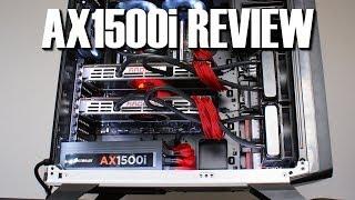 corsair ax1500i titanium power supply review