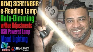 BenQ ScreenBar e-Reading LED Task Lamp 💡: LGTV Review