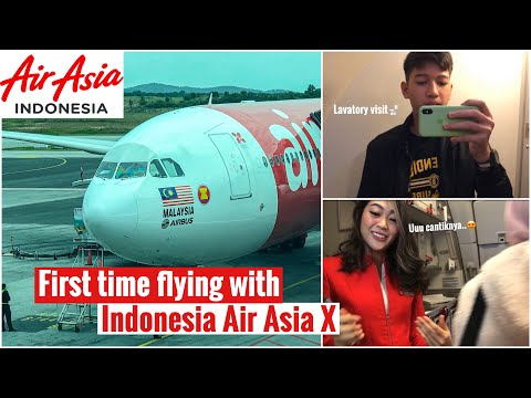 FIRST EXPERIENCE FLYING WITH INDONESIA OWNED AIR ASIA