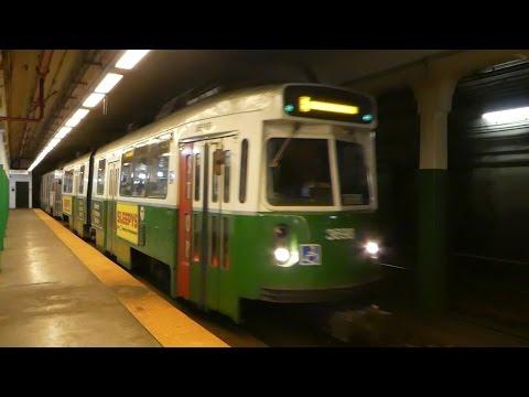 ボストン地下鉄グリーンライン コープリー駅 MBTA Green Line Copley Station