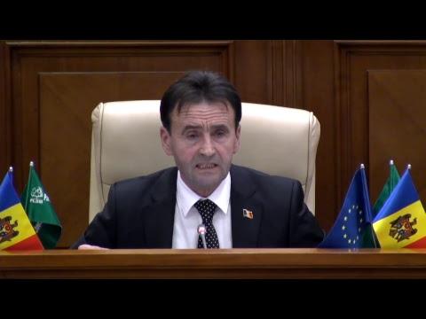 Şedinţa Parlamentului Republicii Moldova 7.12.2017