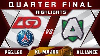 PSG.LGD vs Alliance Quarter Final Kuala Lumpur Major KL Major Highlights Dota 2