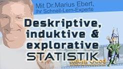 Statistik, deskriptiv, explorativ