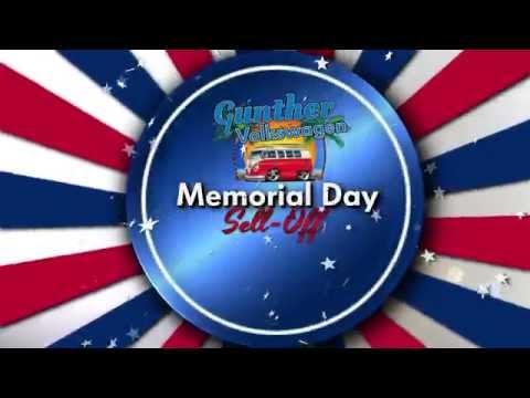 Gunther Volkswagen Fort Lauderdale Memorial Day Sales Event - 2015 Tiguan Special Offer