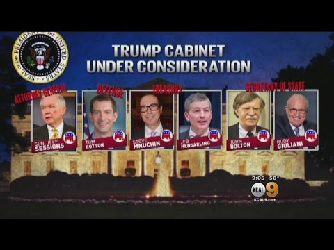 Trump Transition Team Said To Be In Some Disarray