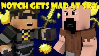 If Notch Was Mad At SkyDoesMinecraft - Minecraft