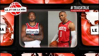 TRANSFERT NBA : Russell Westbrook part à Washington, John Wall à Houston !