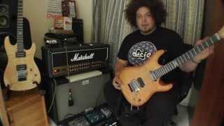 Afro Demo - Chapman Guitars ML-1 Rabea Massaad Signature