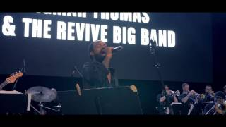 """Bilal + Igmar Thomas & the Revive Big Band  Perform """"Levels""""  at SummerStage"""