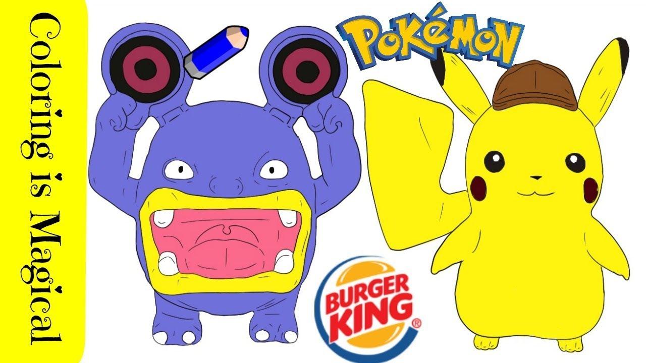 Pokemon Detective Pikachu Burger King Toys: Loudred ...