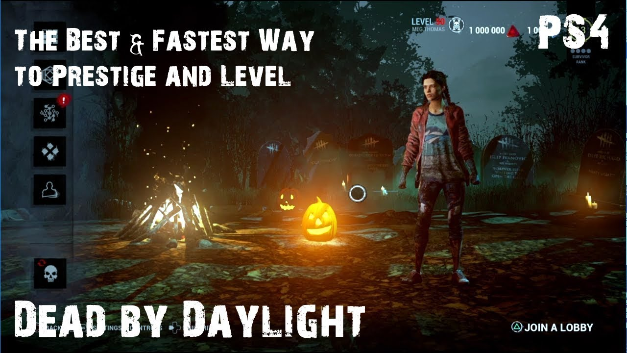 Best & Fastest Way to Prestige & Level Characters | Dead by Daylight | PC |  PS4 | XB1