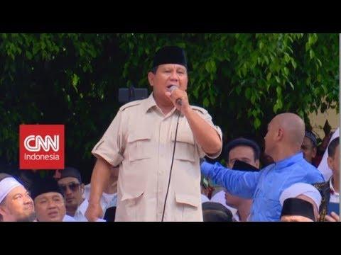 Setelah 3 Kali Klaim Menang, Prabowo Adakan Syukuran