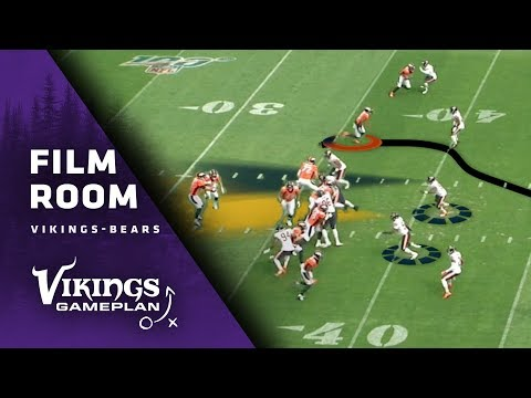 Film Room: How Will The Minnesota Vikings Running Game Look To Attack Chicago's Elite Front-Seven?