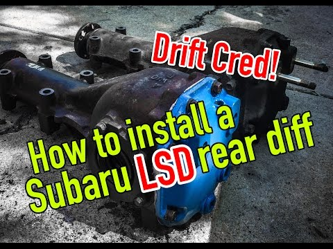 How to swap out a Subaru rear differential - Dirtcheapdaily : Ep.32