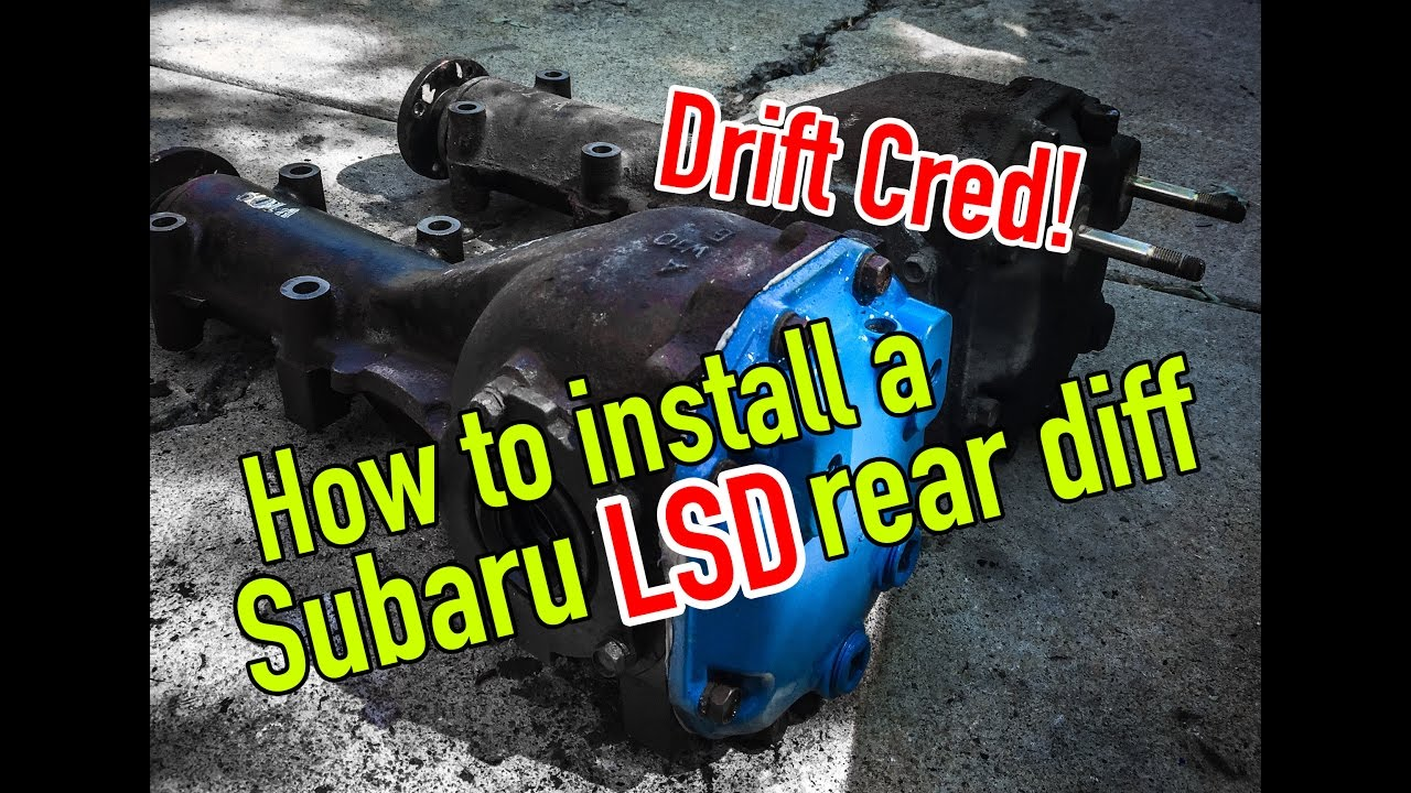 hight resolution of how to swap out a subaru rear differential dirtcheapdaily ep 32 youtube